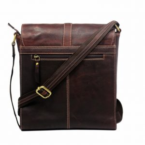 leather messenger bag-MN9051-back