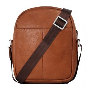 Antique Brown Genuine Leather Bag-LM 29/s-back