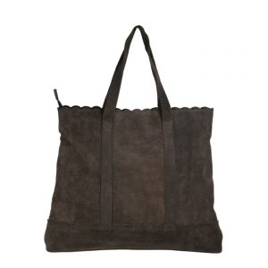 brown leather shopper bag-2009-back
