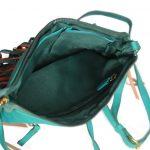 Genuine Leather Turquoise Handbag For Weekend-0011-inside(leathermanfashion)