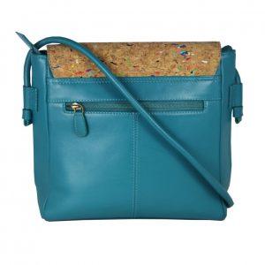 Multi Colour Leather Sling Bag-2107 front (leathermanfashion)-2107 back (leathermanfashion)