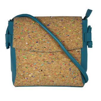 Multi Colour Leather Sling Bag-2107 front (leathermanfashion)