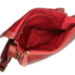 Red Crossbody Leather Bags For Men 102 inside (leathermanfashion)