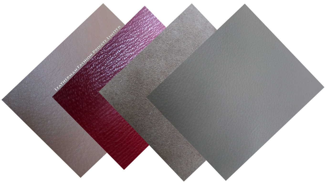 major different types of leather