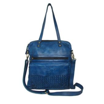 Cow Amazon Leather Handbag 2002 front (leathermanfashion)