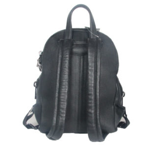 black leather backpack 2021 back (leathermanfashion)