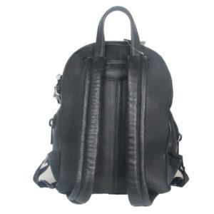 black leather backpack 2021 back (leathermanfashion)
