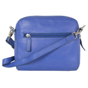 Pantone Blue Sling Cross Body LV 23 back (leathermanfashion)