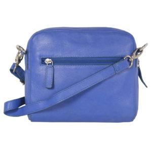 Pantone Blue Sling Cross Body LV 23 back (leathermanfashion)
