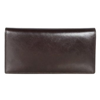 Leatherman Fashion Women Brown Genuine Leather Wallet GNR-1085 front