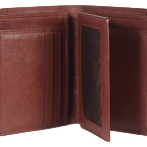 Leatherman Fashion Women Brown Genuine Leather Wallet GNR 1097 inside