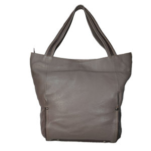 Leatherman Fashion Women Brown, Grey Tote vt-197 back