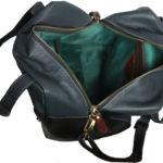 Leatherman Fashion Rish Nappa Genuine Leather handbag VT202 inside