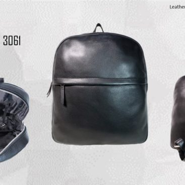 Unisex Genuine Leather Backpack 2019 1