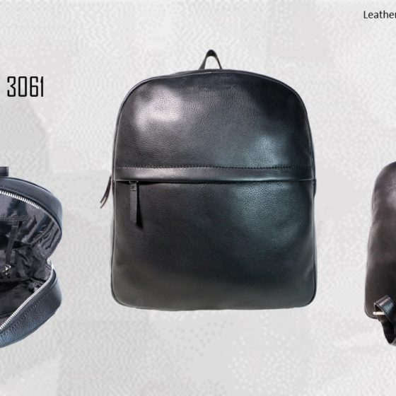 Unisex Genuine Leather Backpack 2019 1