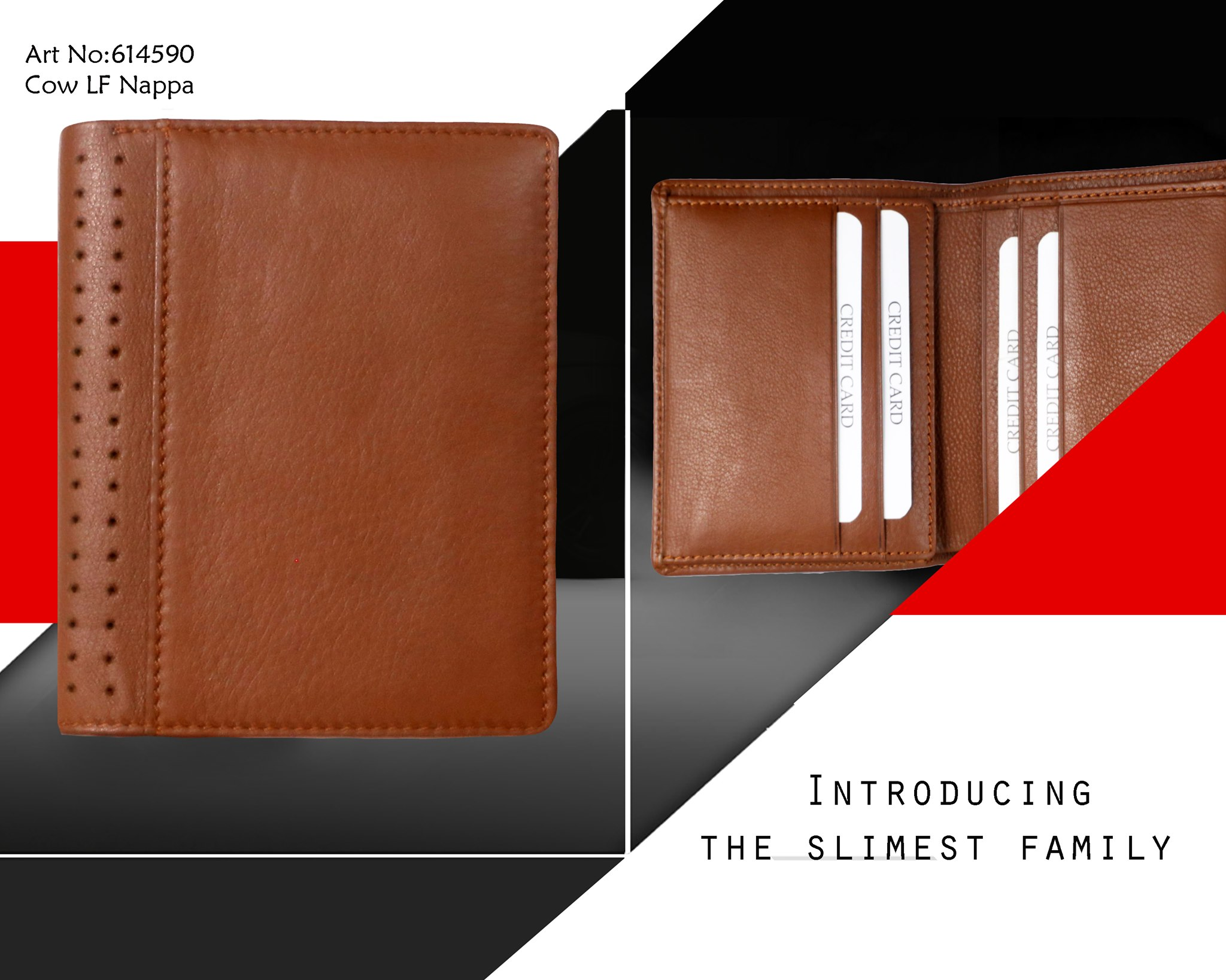 Unisex Small Leather Goods