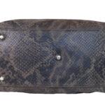 Snake Print Leather Handbag bottom 11508 (10) LeathermanFashion