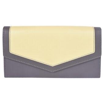 Girls wallet LMN_WALLET_50066_GREYYELLOW_BC5645