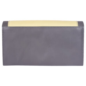 Girls wallet LMN_WALLET_50066_GREYYELLOW_BC5645