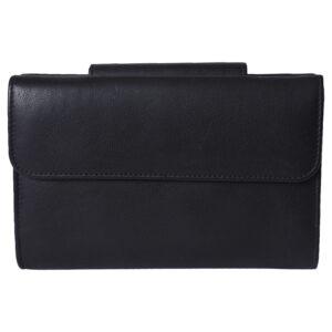 Girls wallet LMN_WALLET_9601_BLACK_BC5554 back