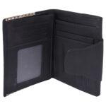 Girls wallet LMN_WALLET_9601_BLACK_BC5554
