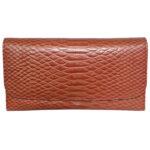 Women's Bifold Wallet LMN_WALLET_ST_124_BRN_NOBC