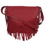 red scarlet sling bag LMN_SLING_3042_SCARLETRED_BC5645_FOSSILFront