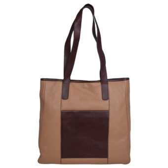 Genuine Leather Ascuro Brown Girls Shoulder Bag