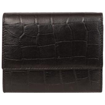 Genuine Leather Women's Black Purse