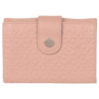 Genuine Leather Women Pink Purse