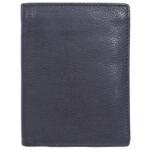 Genuine Leather Unisex D Brown Wallet