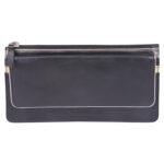 Genuine Leather Women's Black Wallet
