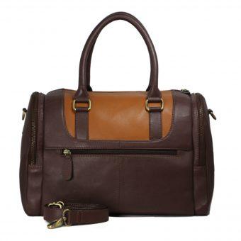 Genuine Leather Duffel Bag B182