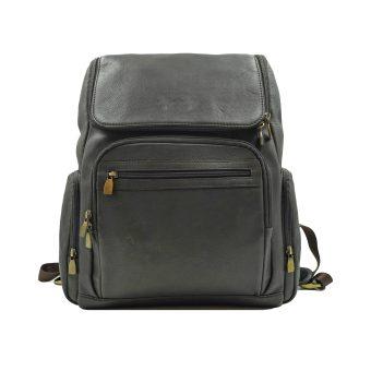Men's Dark Brown Backpack