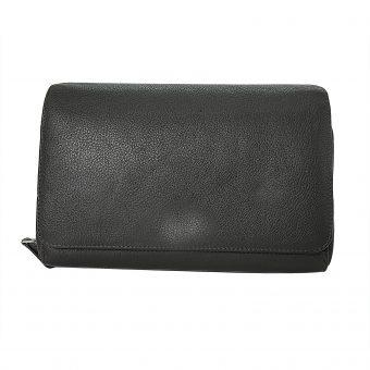 Unisex Brown Travel Wallet