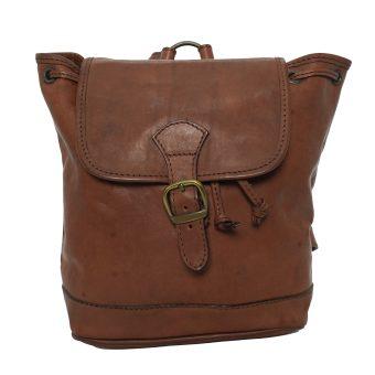 Unisex Brown Backpack