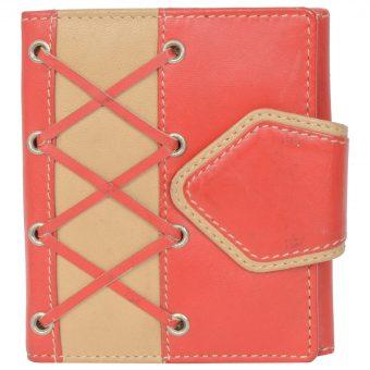Red Women Wallet