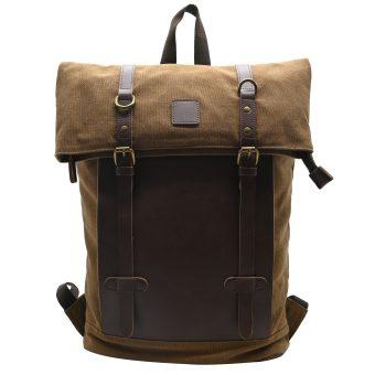 Brown Unisex Backpack