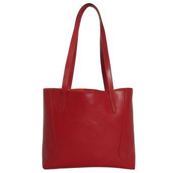 Women Red Tote Bag