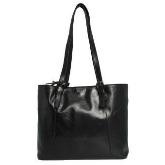 Women Black Tote Bag